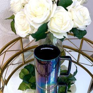 Starbucks Rainbow Luster Iridescent Ceramic Mug